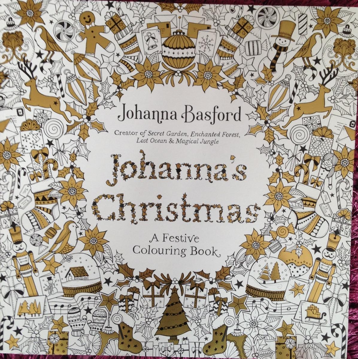 Johanna\'s Christmas by Johanna Basford – Creative Colouring With Hazel